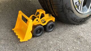 Experiment Car vs Excavator, Truck, Bulldozer Toy | Crushing Crunchy & Soft Things by Car | Test Ex