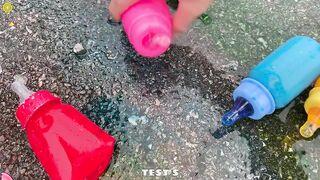 Experiment Car vs Mentos vs Coca Cola, Sprite, Monster | Crushing Crunchy & Soft Things by Car
