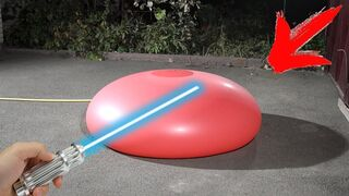 Filling the Huge Balloon with Water to see what Gonna Happen! Can something go wrong?!?