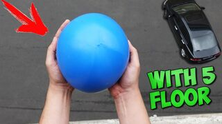 WHAT WILL HAPPEN IF YOU THROW A BALL OOBLECK FROM THE FIFTH FLOOR?!