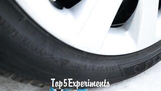 Experiment: Car vs Magic 8 Ball | Crushing Crunchy & Soft Things by Car!