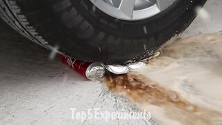 EXPERIMENT Car vs Orbeez Balloons   Crushing Crunchy & Soft Things by Car!
