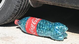 Crushing Crunchy & Soft Things by Car! EXPERIMENT: Car vs 1000 MARBLES