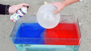 EXPERIMENT HYDRO DIPPING A BALLOON