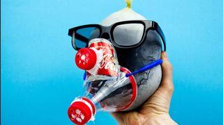 Simple Mask For Coronavirus (COVID 19). Homemade Mask Using Coca Cola