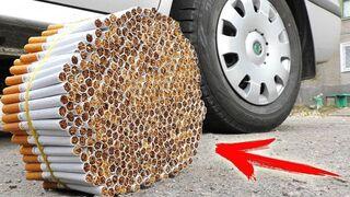 EXPERIMENT: CAR VS CIGARETTES