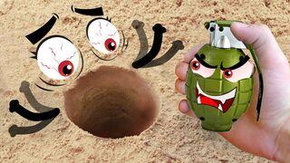 EXPERIMENT Doodles: UnderGround UnderWater and UnderPan | Woa Doodland
