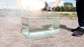 Experiment: Stretch Armstrong in Liquid Nitrogen