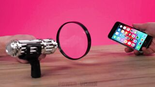 Experiment: Most Powerful Laser VS iPhone