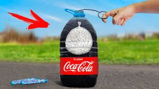 Experiment: Coca Cola VS Mentos