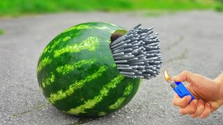 6 Mega Tests with Watermelon