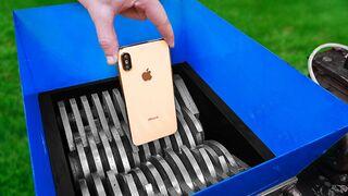 Shredding Machine Vs Iphone 11 Pro
