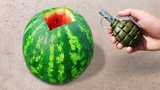 10 Tests with Watermelon