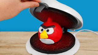 Experiment: Waffle Maker Vs Angry Birds