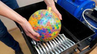 Experiment: Shredding Giant Balloon