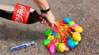 Experiment: Coca Cola and Balloons