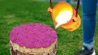 Experiment: Lava Vs 1000 Matches