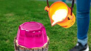 Experiment: Lava Vs Jelly