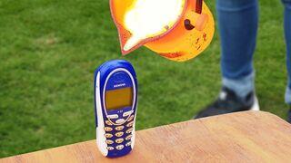 Experiment: Lava Vs Phone