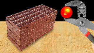 Experiment: 1000 Degree Metal Ball Vs Things