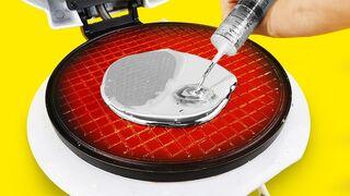 Experiment: Waffle Maker Vs Gallium