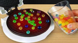 Experiment: Waffle Maker Vs Orbeez