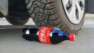 Experiment: Car Vs Coca-Cola