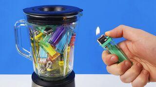 Experiment: Blender Vs Lighters