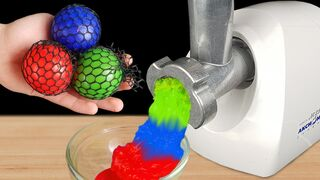 Experiment: Meat Grinder Vs Stress Ball