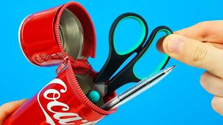 8 AWESOME LIFE HACKS WITH COCA COLA