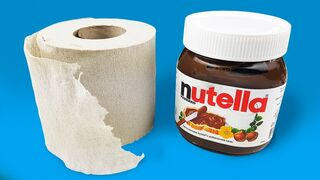 HOW TO MAKE NUTELLA OR 5 DIY's TRICKS
