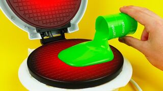What if to Drop SLIME into Waffle Maker