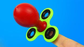 3 AWESOME TRICKS WITH FIDGET SPINNER