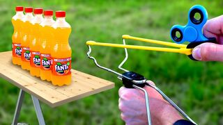 Experiment Fidget Spinner Vs Fanta