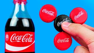 How To Make A Coca-Cola Fidget Spinner