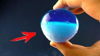 EXPERIMENTS  Orbeez in Liquid Nitrogen & Dry Ice