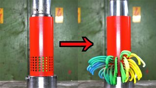 Crushing things with 150 TON Worm Maker Hydraulic Press Tool | Oddly satisfying!