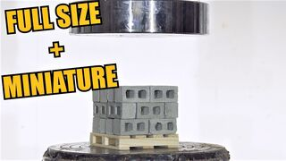 How Much Weight Can a Single Pallet Hold? Hydraulic Press Test!