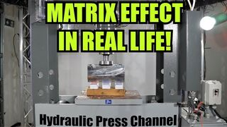 Exploding Playing Cards with Hydraulic Press | in Bullet Time Slow Motion!