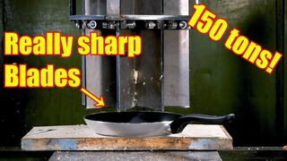 Will it Slice? SLICER 5 000 000 Vs. Frying pan and Paper!