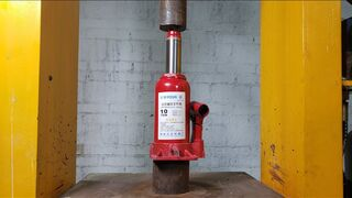 Can the jack support hundreds of tons of pressure?