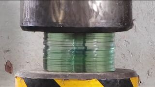100 disc CDVS hydraulic press will be squashed?