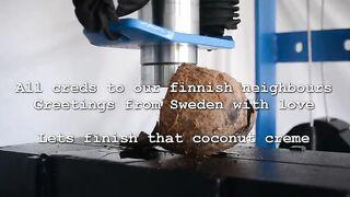 Coconut vs Hydraulic Press