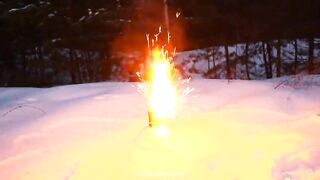 Experiment: Helicopter and Fireworks