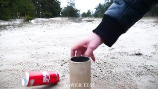 Experiment: Coca Cola, Fanta, Sprite vs XXL Firecrackers