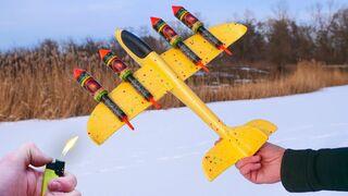 EXPERIMENT: ROCKET AND AIRCRAFT!