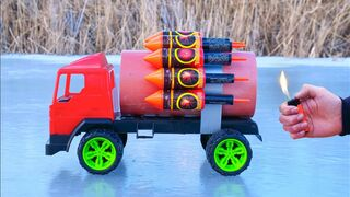 EXPERIMENT: XXL ROCKET Instead of The Engine in a Truck