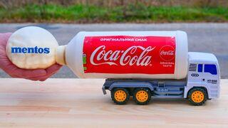 XXL Coca-Cola Rocket with Truck