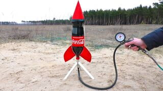 How to make a rocket from a bottle?