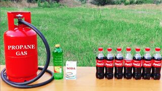 HOW TO MAKE A ROCKET FROM COCA-COLA